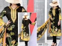 VS Classic Lawn 2018 with Lawn Dupatta VS-18B in Pakistan