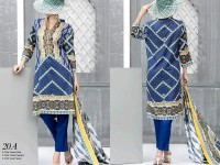 VS Classic Lawn 2018 with Lawn Dupatta VS-20A in Pakistan
