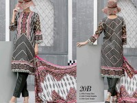 VS Classic Lawn 2018 with Lawn Dupatta VS-20B in Pakistan
