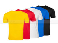 5 Plain Round Neck T-Shirt Bundle Offer in Pakistan