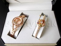 Elegant Watch & Bracelet Gift Set in Pakistan