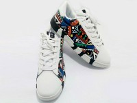 Pattern Design White Running Shoes in Pakistan