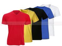 5 V-Neck Half Sleeves T-Shirts in Pakistan