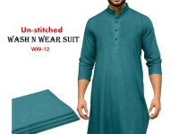Wash N Wear Un-Stitched Men's Suit WW-12 Price in Pakistan