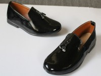 Glossy Leather Men's Black Formal Shoes Price in Pakistan