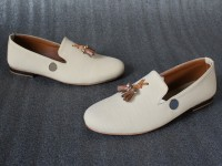 Stylish White Formal Loafer Shoes Price in Pakistan
