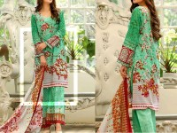 Al-Zohaib Anum Lawn 2018 with Lawn Dupatta 01-A Price in Pakistan