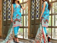 Al-Zohaib Anum Lawn 2018 with Lawn Dupatta 01-B Price in Pakistan