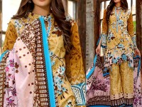 Al-Zohaib Anum Lawn 2018 with Lawn Dupatta 01-C Price in Pakistan