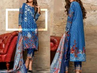 Al-Zohaib Anum Lawn 2018 with Lawn Dupatta 02-A Price in Pakistan