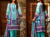 Al-Zohaib Anum Lawn 2018 with Lawn Dupatta 04-B Price in Pakistan