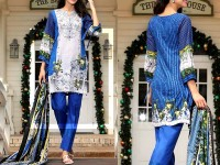 Al-Zohaib Anum Lawn 2018 with Lawn Dupatta 06-B Price in Pakistan