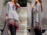Al-Zohaib Anum Lawn 2018 with Lawn Dupatta 08-A Price in Pakistan