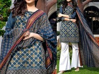 ZS Textile RangReza Lawn 2018 ZS-04A Price in Pakistan