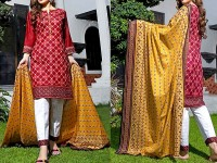 ZS Textile RangReza Lawn 2018 ZS-04B Price in Pakistan