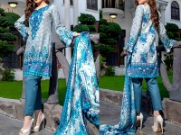 ZS Textile RangReza Lawn 2018 ZS-06A Price in Pakistan
