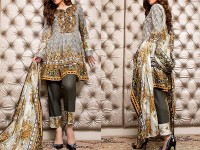 ZS Textile RangReza Lawn 2018 ZS-06B Price in Pakistan