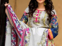 ZS Textile RangReza Lawn 2018 ZS-10A Price in Pakistan