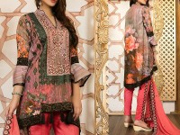 Mehariya Embroidered Lawn Dress MP-01A Price in Pakistan