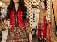 Mehariya Embroidered Lawn Dress MP-03A Price in Pakistan