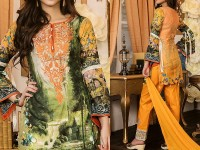 Mehariya Embroidered Lawn Dress MP-04A Price in Pakistan