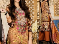 Mehariya Embroidered Lawn Dress MP-05A Price in Pakistan