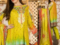Mehariya Embroidered Lawn Dress MP-07A Price in Pakistan