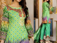 Mehariya Embroidered Lawn Dress MP-07B Price in Pakistan