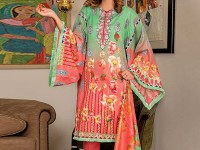 Rashid Classic Lawn 2018 with Lawn Dupatta 207-B Price in Pakistan