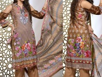 Rashid Classic Lawn 2018 with Lawn Dupatta 209-B Price in Pakistan