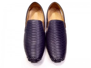 Navy Blue Formal Loafer Shoes For Men Price in Pakistan