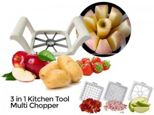 3 in 1 Multi-Chopper Fruit & Vegetable Slicer Price in Pakistan