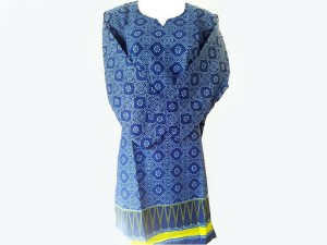 Printed Women's Lawn Kurti Price in Pakistan