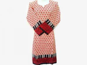 Readymade Printed Women's Lawn Kurti Price in Pakistan