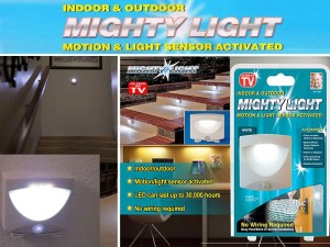 Motion & Light Sensor Activated Mighty Light Price in Pakistan