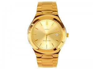 Golden Date Dial Men's Watch Price in Pakistan
