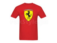 Ferrari Graphic T-Shirt in Pakistan