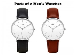 Pack of 2 DW Men's Watches  Price in Pakistan