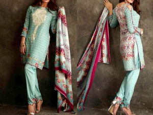 Libas Embroidered Lawn Dress LS-1A Price in Pakistan