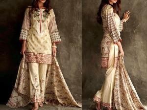 Libas Embroidered Lawn Dress LS-2B Price in Pakistan