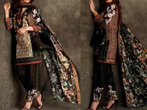 Libas Embroidered Lawn Dress LS-4A Price in Pakistan