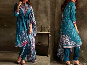Libas Embroidered Lawn Dress LS-5B Price in Pakistan