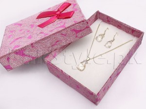 Delicate Silver Necklace Set Price in Pakistan