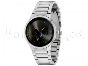 Elegant Black Dial Down Second Watch for Men Price in Pakistan