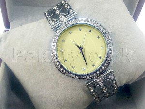 Elegant Rhinestone Bracelet Watch Price in Pakistan