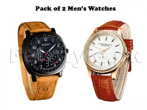 Pack of 2 Watches For Men Price in Pakistan