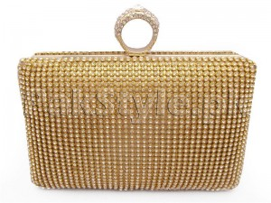 Elegant Golden Bridal Clutch Price in Pakistan