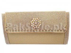 Golden Evening Clutch Bag Price in Pakistan
