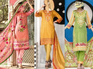 Pack of 3 VS Classic Lawn Suits Price in Pakistan