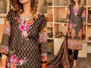 Rashid Classic Lawn 2018 with Lawn Dupatta 208-A Price in Pakistan